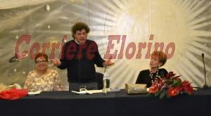 Don Bruno Carbone in un momento del suo intervento