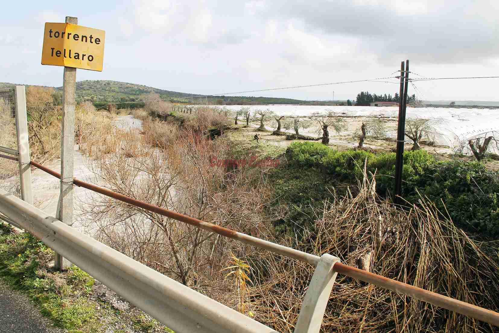 """Esondazione fiume Tellaro. Gennuso: """"Non c'è stata manutenzione. Chi pagherà per i danni?"""""""