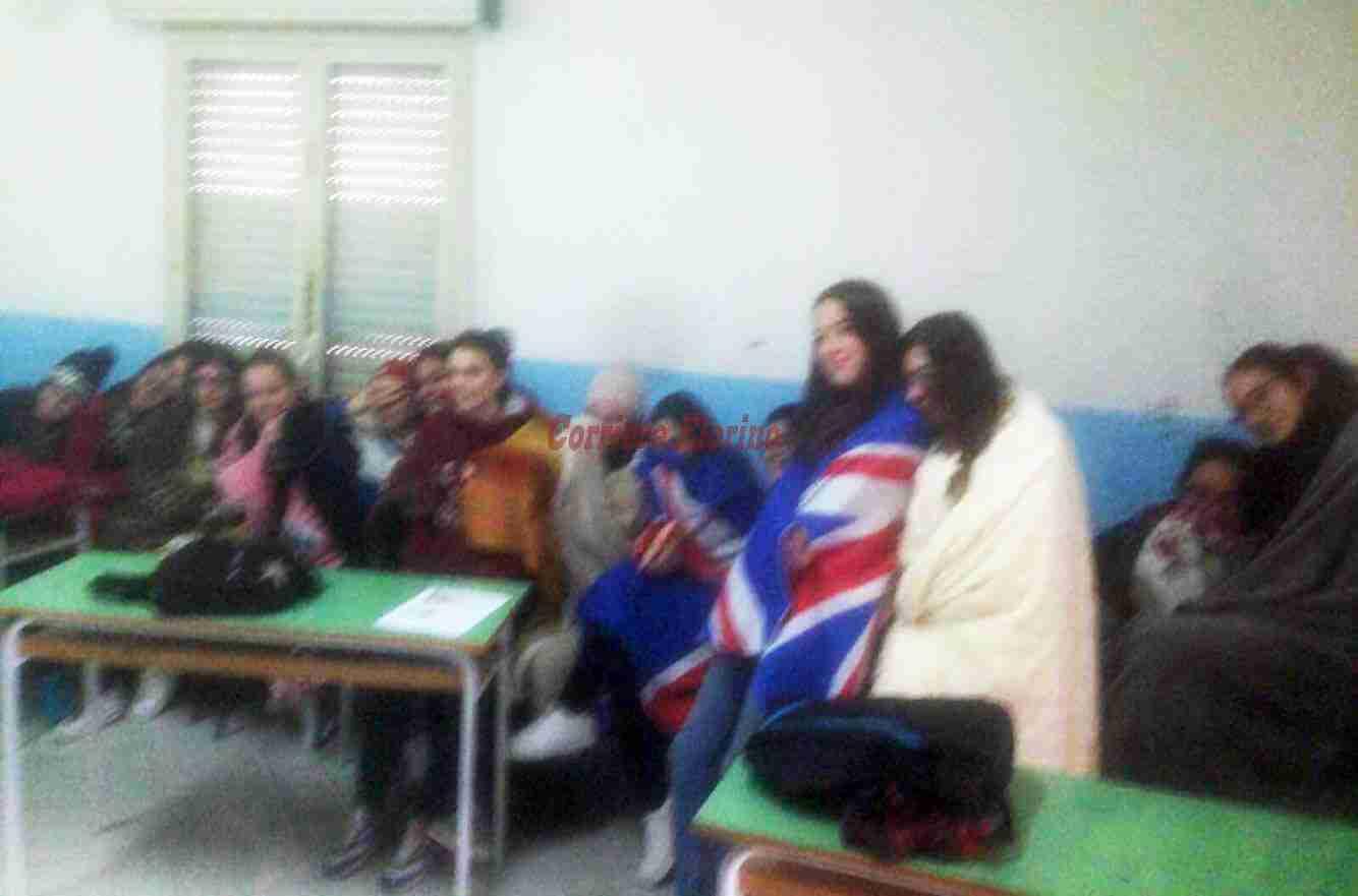 In classe con le coperte, rimangono al freddo gli studenti dell'Alberghiero di Rosolini