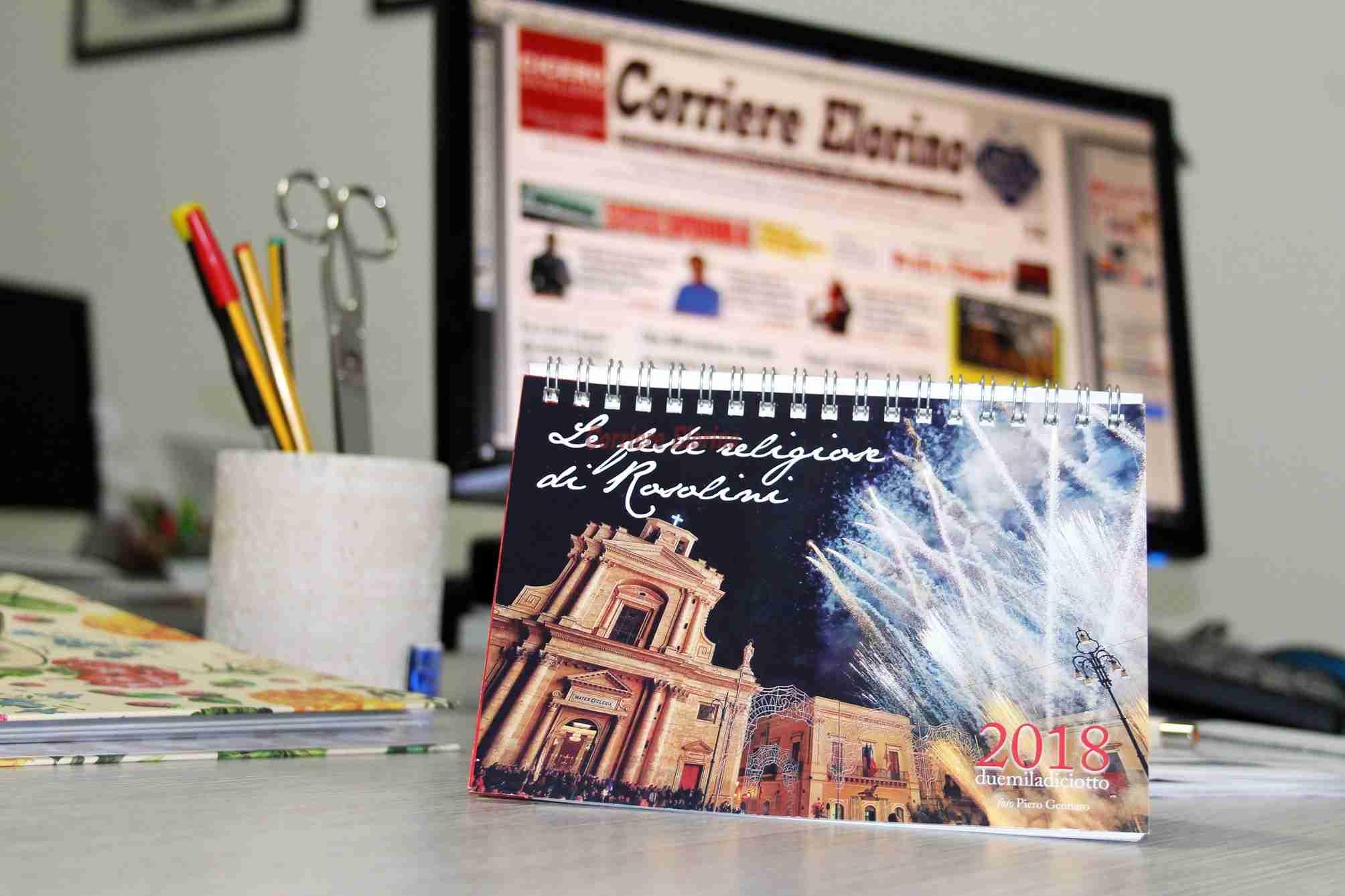 Calendario Feste.Le Feste Religiose Di Rosolini Il Calendario Da Tavolo In