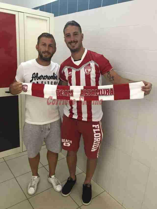 Raffaele Gambuzza nuovo giocatore dell'Altamura