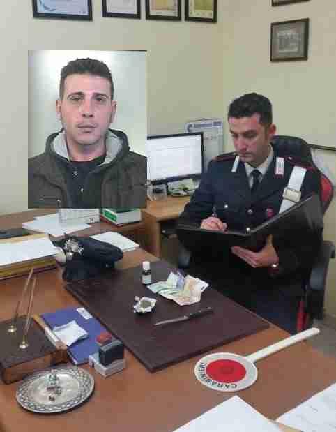 Droga nell'auto, giovane arrestato dai Carabinieri di Rosolini