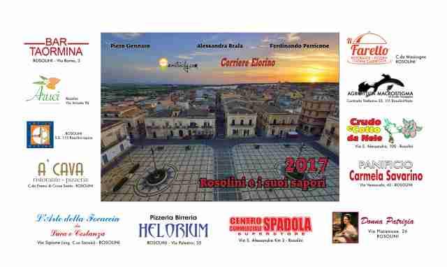 Oggi pomeriggio la presentazione del calendario 2017 di Piero Gennaro, East Sicily e Corriere Elorino