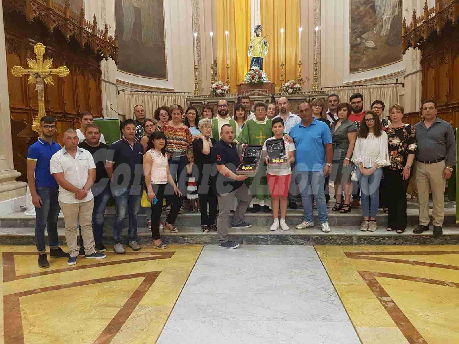 In ricordo di Pino Giallongo 2 defibrillatori alla Chiesa Madre e al Cuore Immacolato