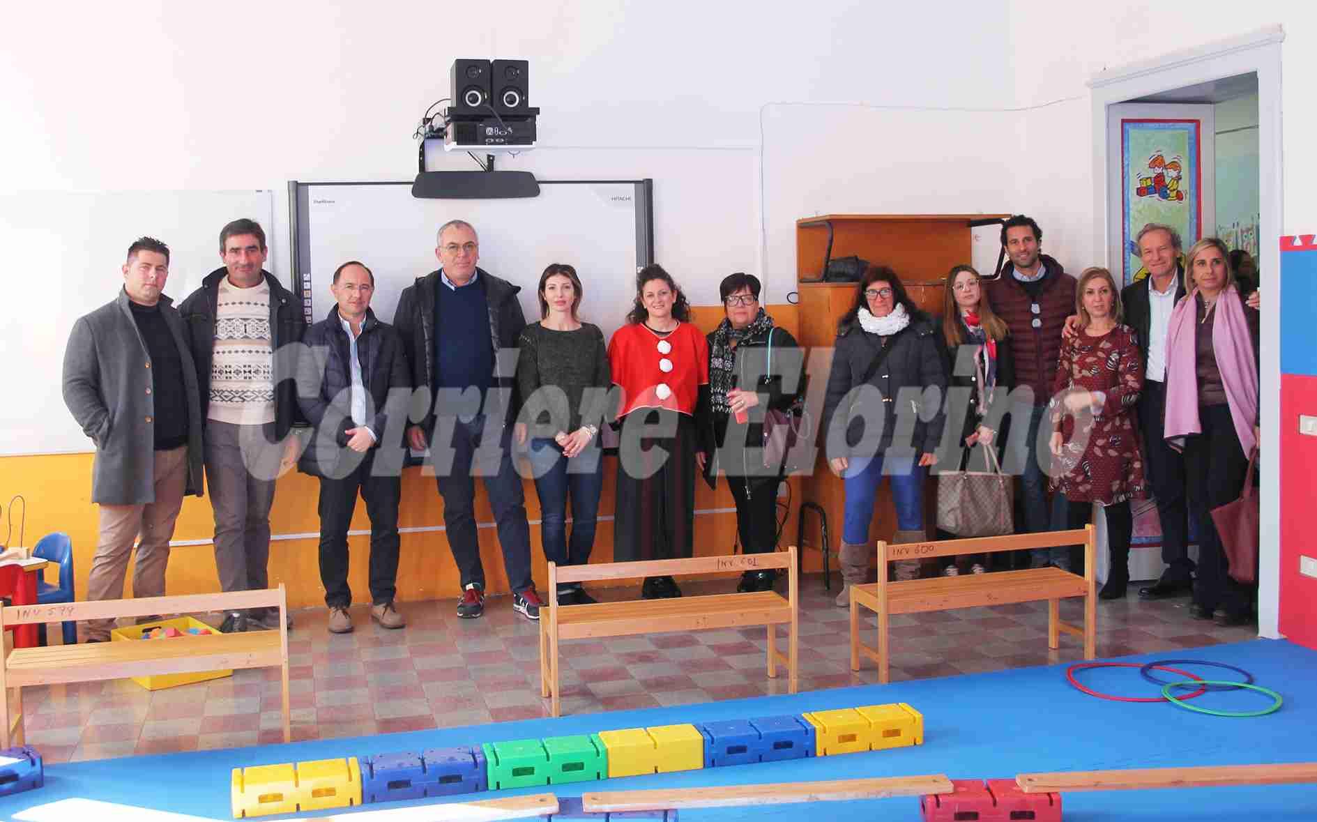 """Inaugurata la nuova sala """"psicomotricità"""" realizzata con il contributo degli sponsor – Il video"""