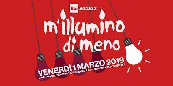 """""""M'illumino di meno"""": il 1° marzo, per 3 minuti, luci spente e candele accese in Piazza Garibaldi"""