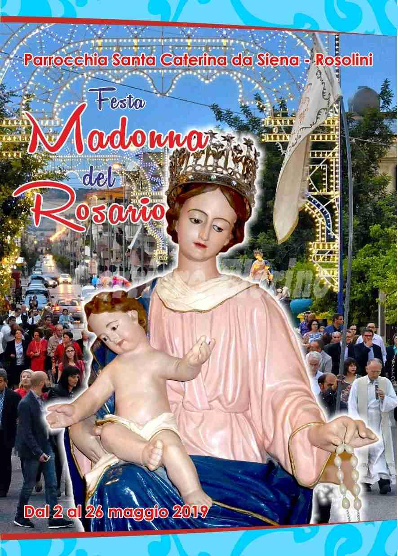 Madonna del Rosario, annullata la processione. Confermati gli altri eventi in programma