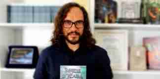 Giuseppe Gallato con il volume Bestie d'Italia, edito NPS Edizioni.
