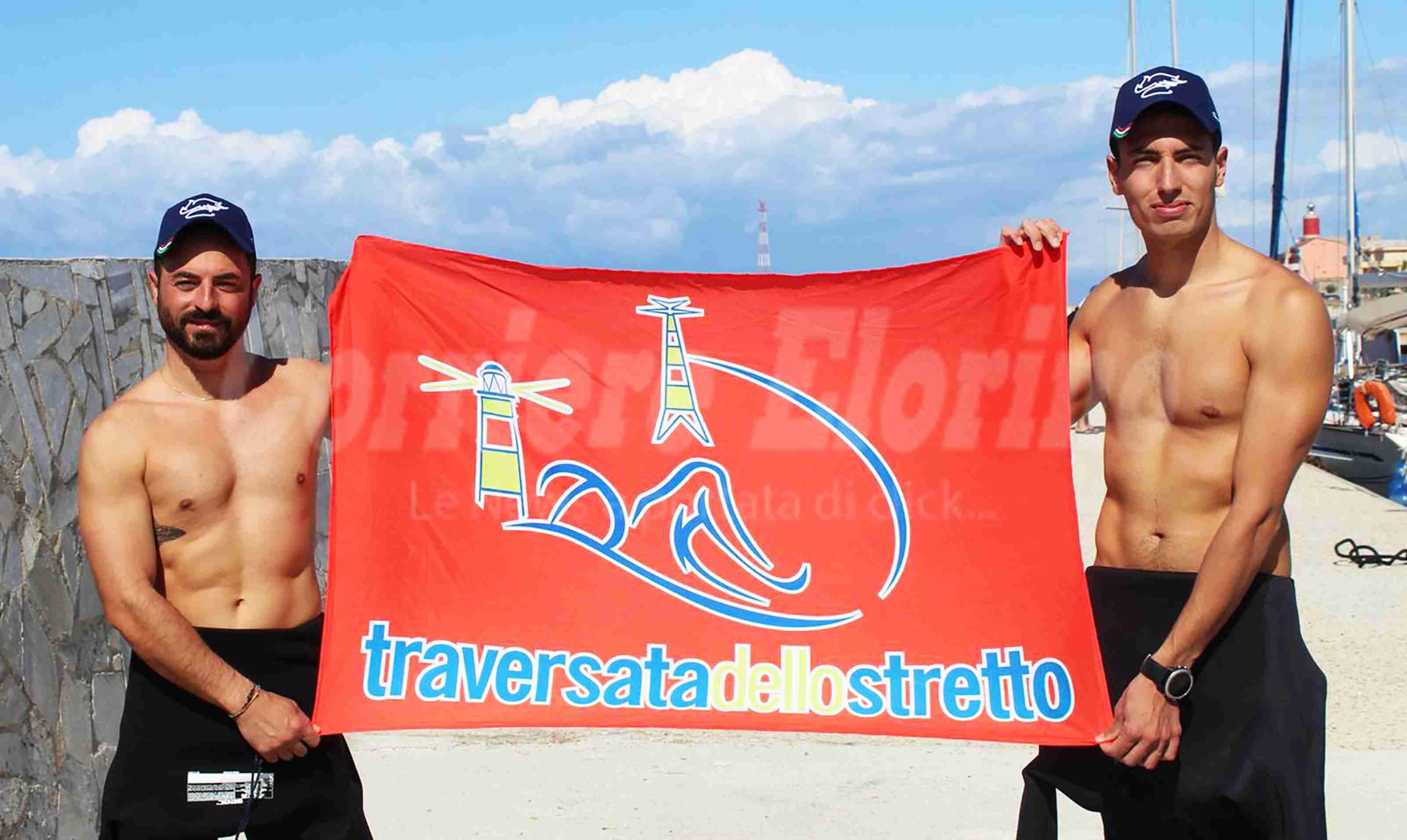 """Traversata dello Stretto. I due carabinieri rosolinesi che hanno partecipato: """"Esperienza unica"""""""