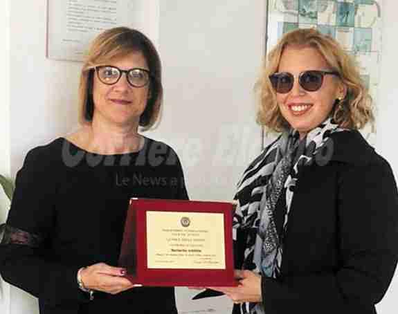 Un premio al talento femminile alla rosolinese Marinella Schifitto della Bioverde