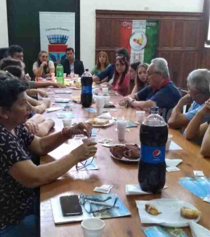 Circolo di Santa Fe a lavoro per rafforzare il legame tra Argentina e Rosolini