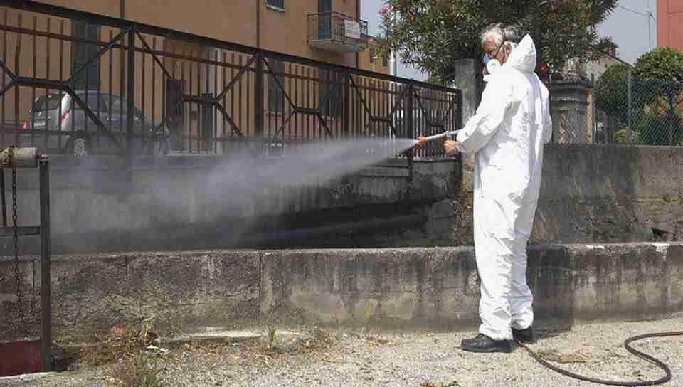 Allarme Coronavirus: da domani prosegue l'attività di sanificazione della città