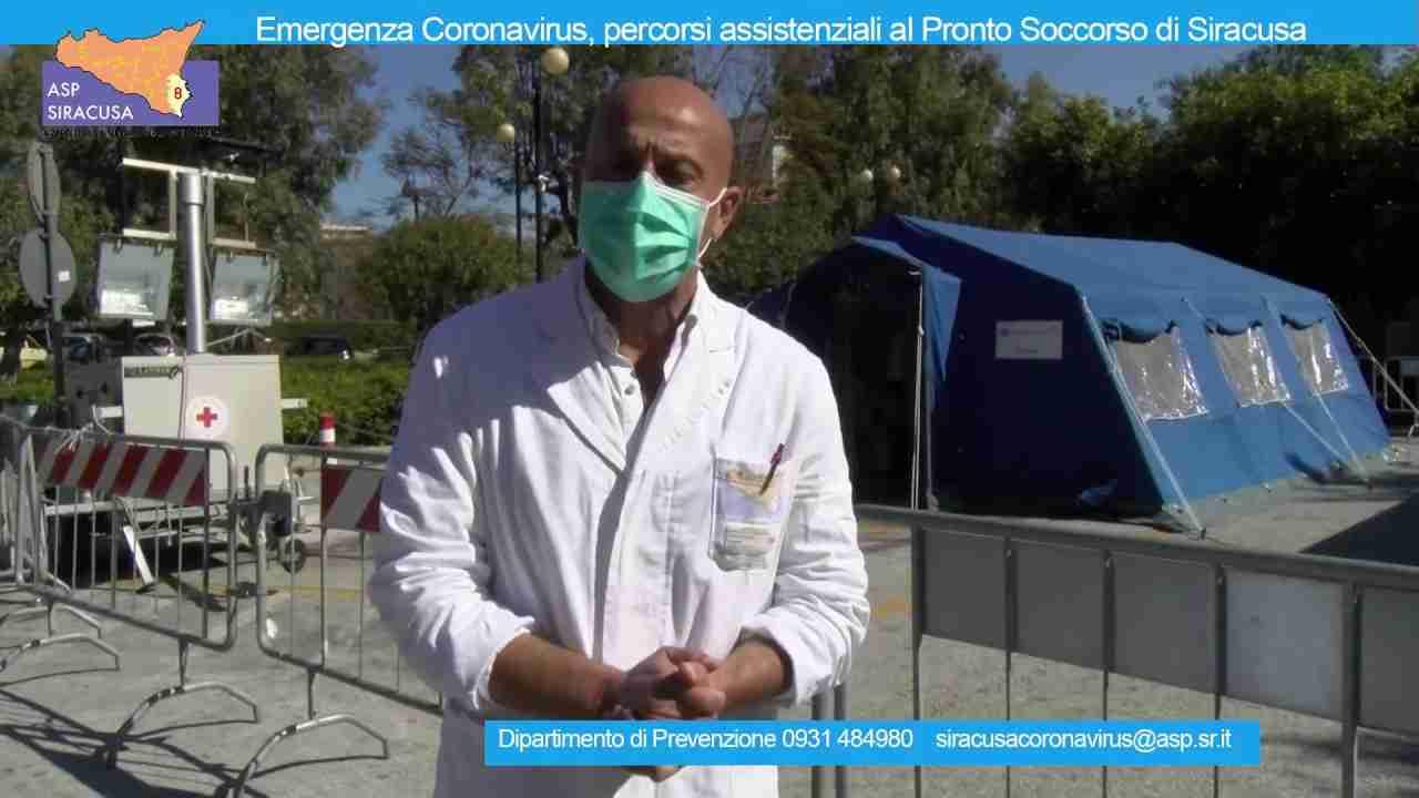 Coronavirus, un video dell'Asp per spiegare le modalità di accesso al Pronto Soccorso