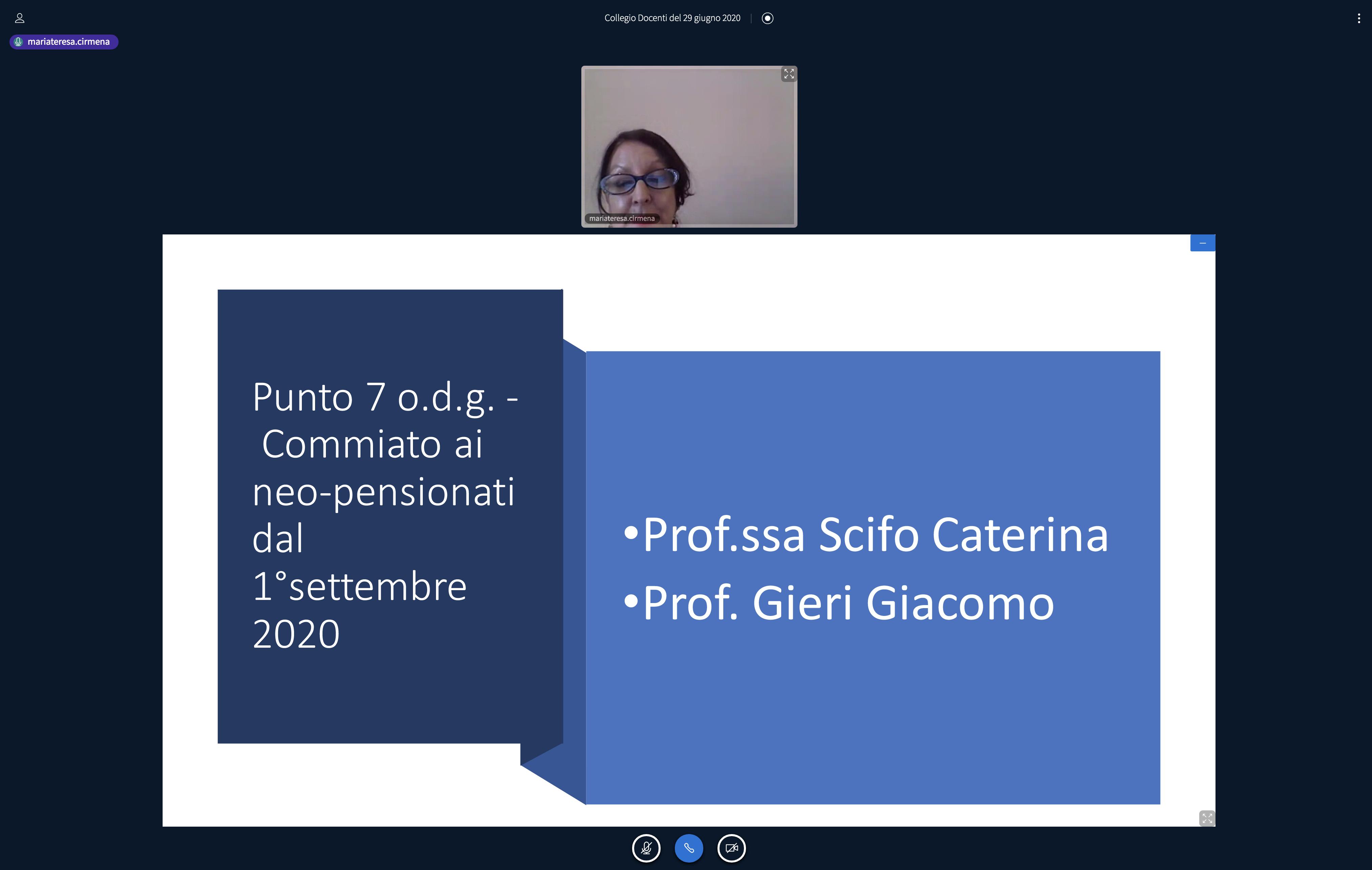 Felice pensionamento ai professori Caterina Scifo e Giacomo Gieri