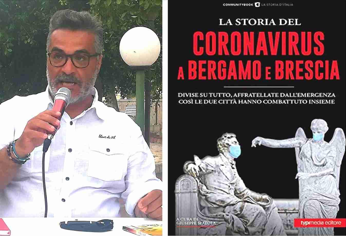 """Presentato a Rosolini """"La storia del Coronavirus tra Bergamo e Brescia"""" del rosolinese Beppe Spatola"""