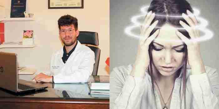 La sensazione di vertigine: tipi, cause e l'efficacia del trattamento Osteopatico