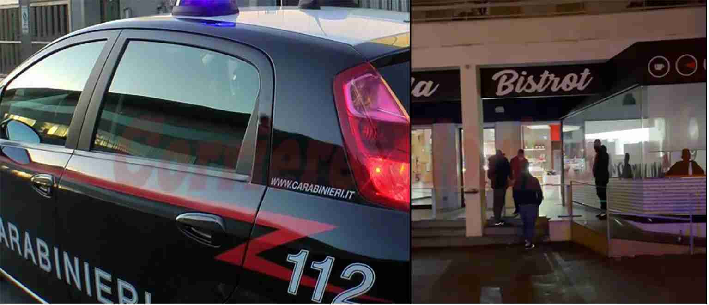 Mancato rispetto delle norme anticovid, i Carabinieri multano e chiudono un bar a Rosolini