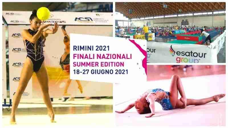 Clara e Giada, due meravigliose ginnaste rosolinesi conquistano i podi nazionali di ginnastica ritmica