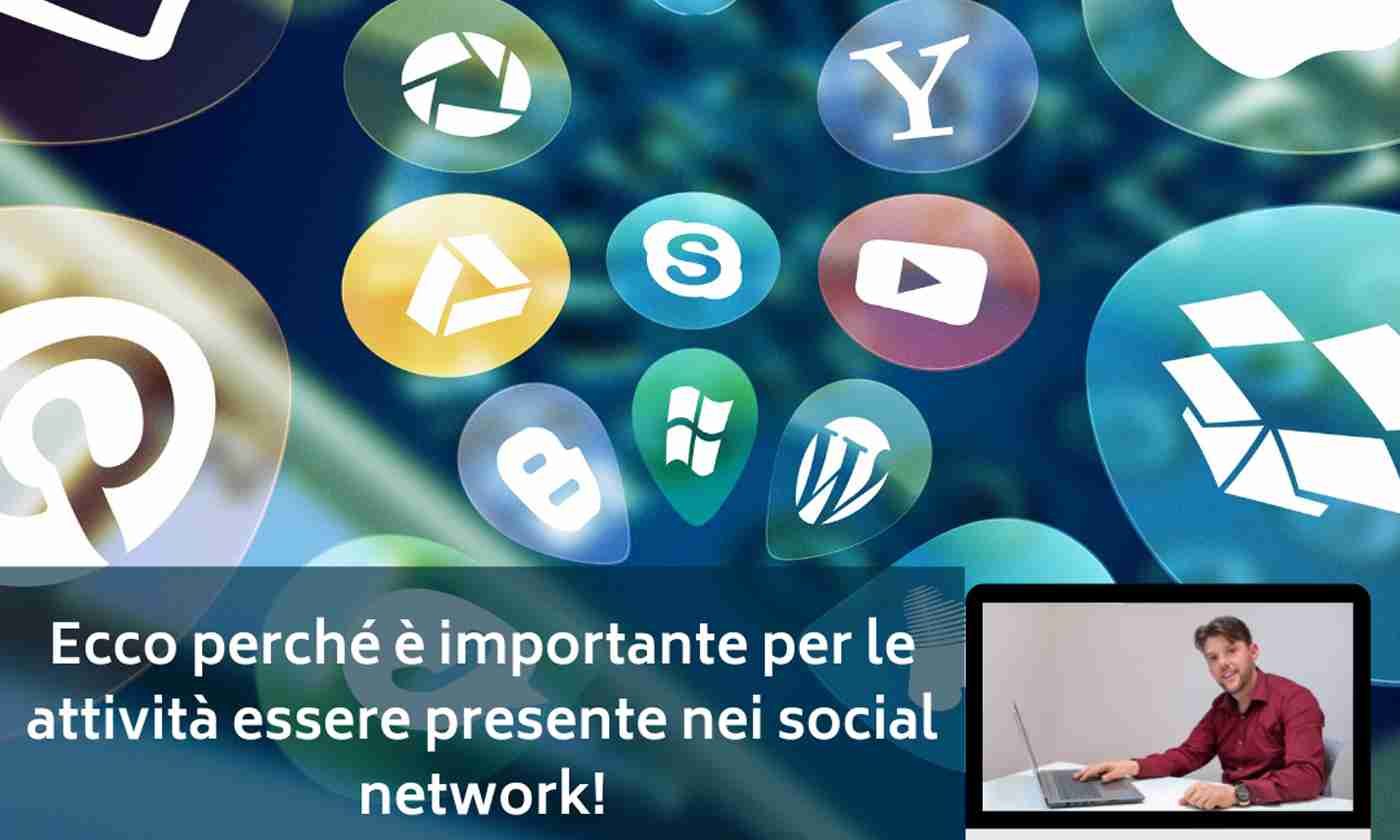 Ecco perchè è importante per le attività essere presenti sui social network