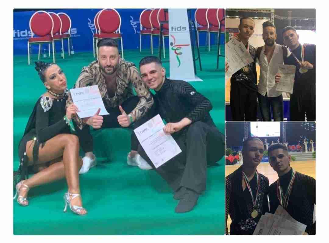 Ottimi risultati della Dancing Stars Sicilia di Rosolini ai campionati italiani FIDS di Rimini