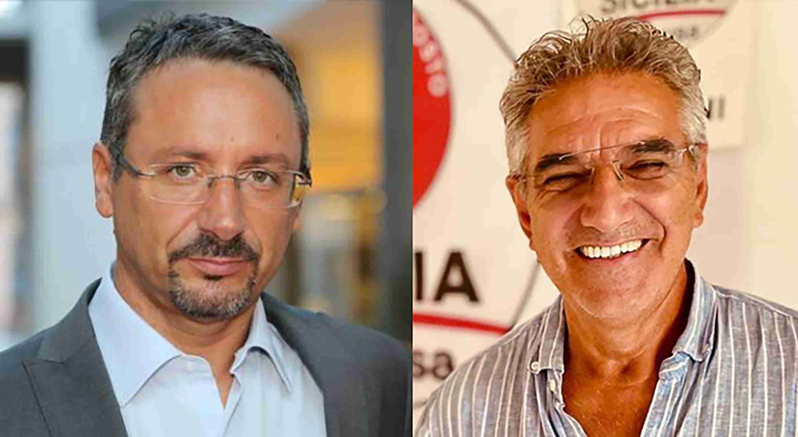 L'europarlamentare Piernicola Piedicini a Rosolini per sostenere la candidatura dell'imprenditore Franco Di Tommasi