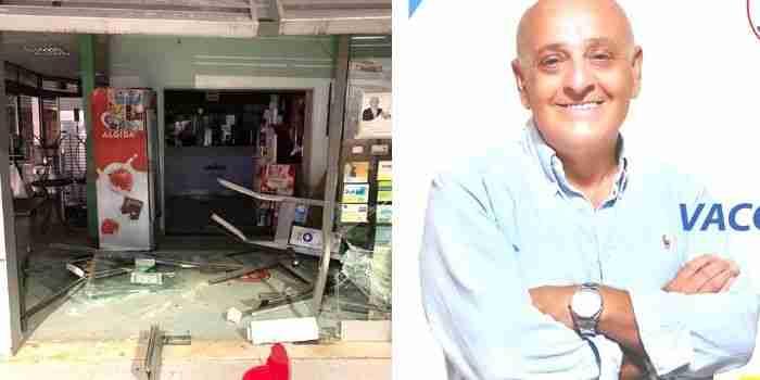 Tentato furto all'Agip, la solidarietà del candidato sindaco Vaccaro alla famiglia Floriddia